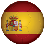 Spain Football Flag 25mm Button Badge